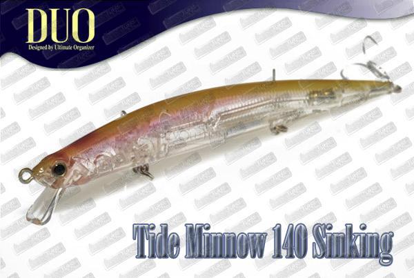 DUO Tide Minnow Slim 140 Sinking
