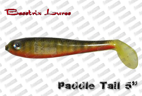 BASSTRIX Paddle Tail 5''