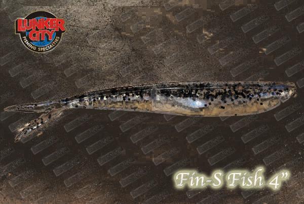 LUNKER CITY Fin-S fish 4''