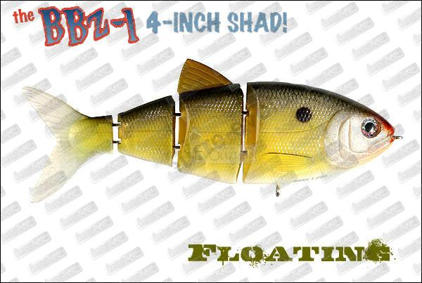 SPRO BBZ-1 Shad Floating