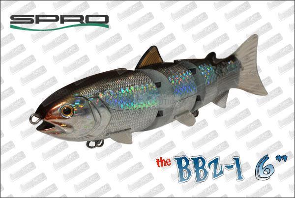 SPRO BBZ-1 Jr Fast sinking 6''
