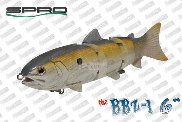 SPRO BBZ-1 Jr Floating 6''