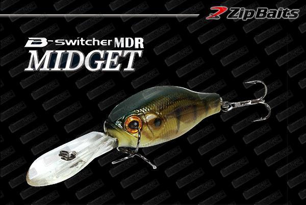 ZIP BAITS B-Switcher MDR Midget Silent