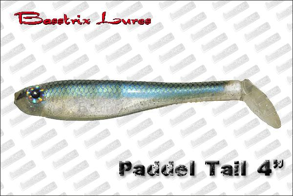 BASSTRIX Paddle Tail 4''