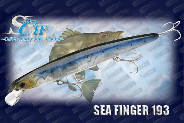 LUCKY CRAFT Sea Finger 193F Slim