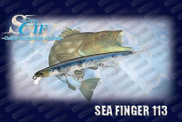 LUCKY CRAFT Sea Finger 113F Slim
