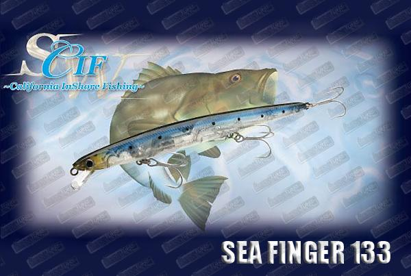 LUCKY CRAFT Sea Finger 133F Slim