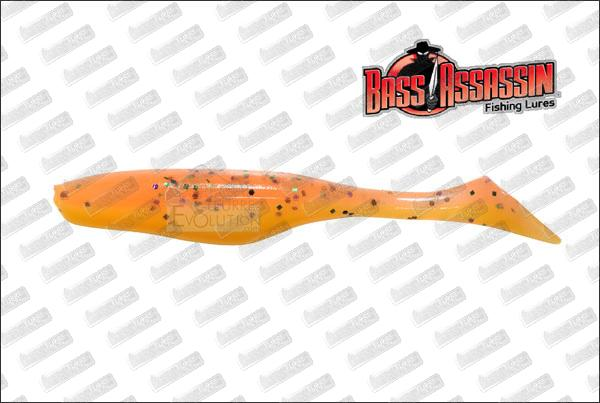 BASS ASSASSIN Turbo Shad 4''