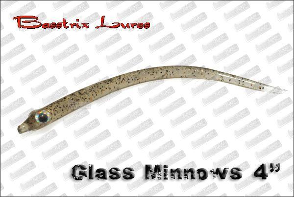 BASSTRIX Glass Minnows 4''