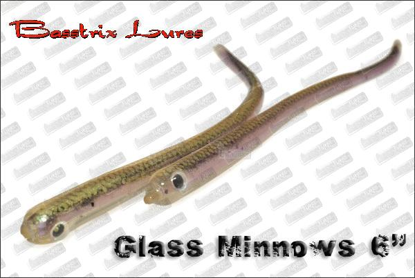 BASSTRIX Glass Minnows 6''