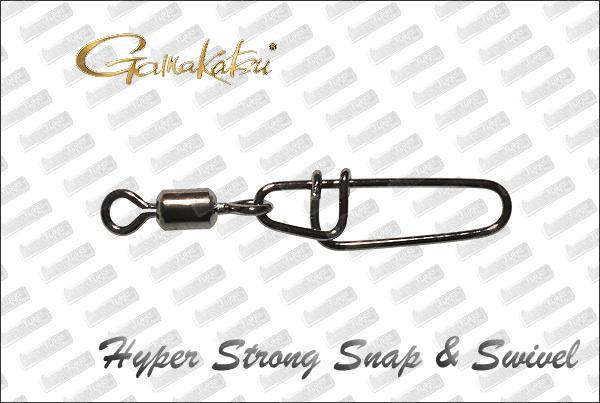 Gamakatsu Hyper Strong Snap & Swivel