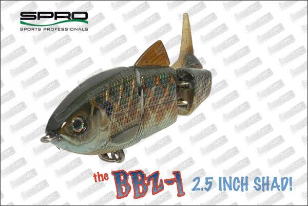 SPRO BBZ-1 Shad 2.5'' Sinking