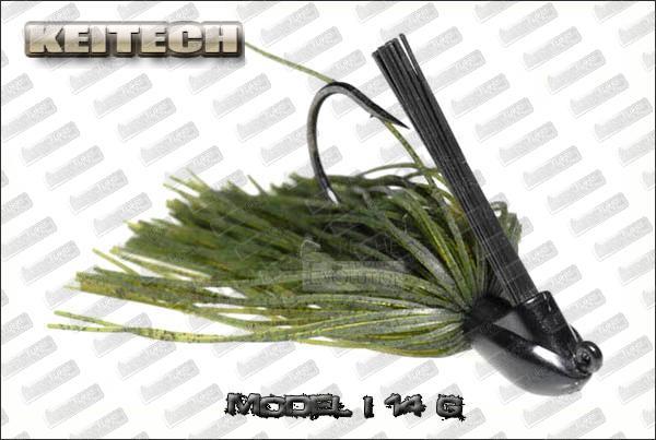 KEITECH Rubber jig Model I 1/2oz (14 g)