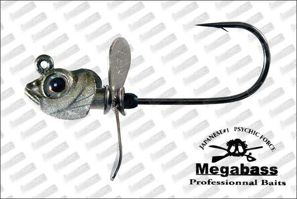 MEGABASS Okashira Screw Head