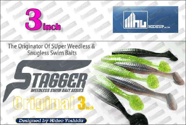 HIDEUP Stagger Original 3''