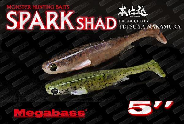 MEGABASS Spark Shad 5''