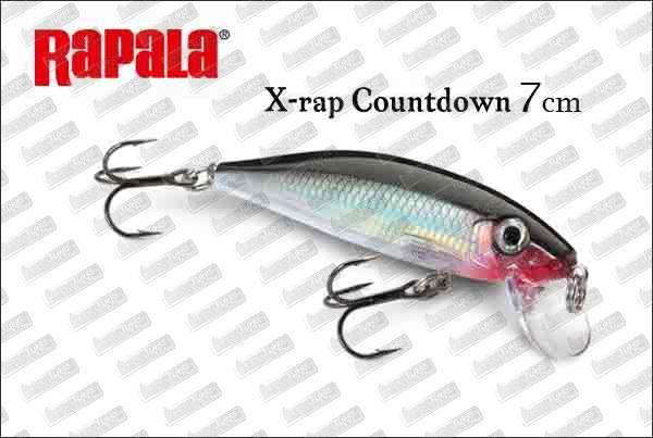 RAPALA X-Rap Countdown 7cm