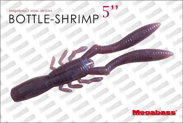 MEGABASS Bottle Shrimp 5''