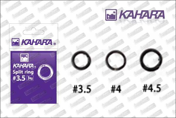 KAHARA Split Ring Black