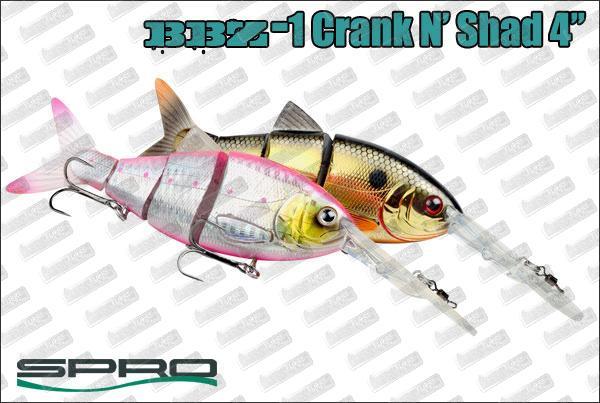 SPRO BBZ-1  4'' Crank-N-Shad