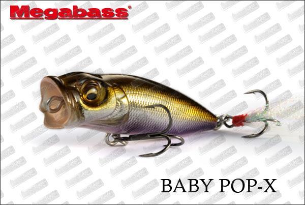 MEGABASS Baby Pop-X