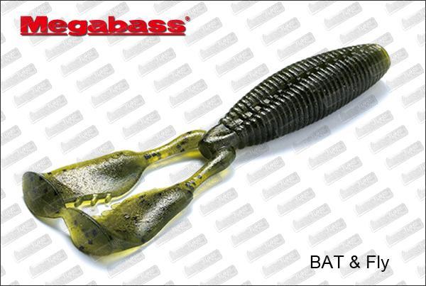 MEGABASS Bat & Fly 4
