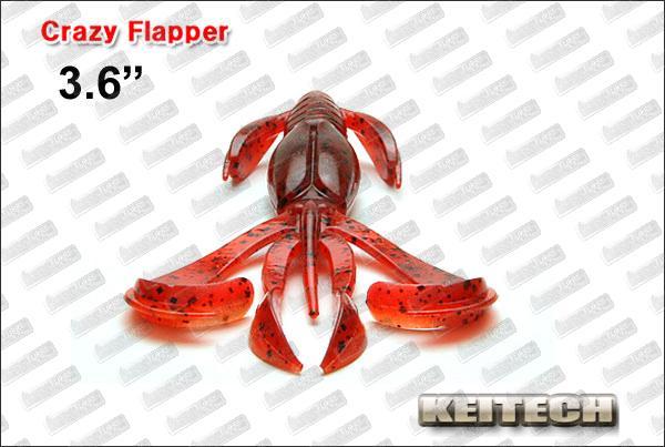 KEITECH Crazy Flapper 3.6''