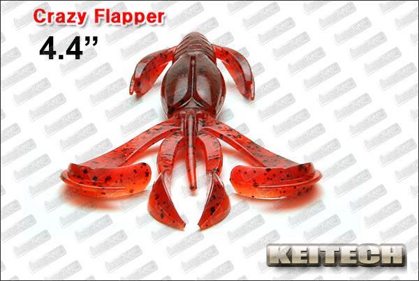 KEITECH Crazy Flapper 4.4''