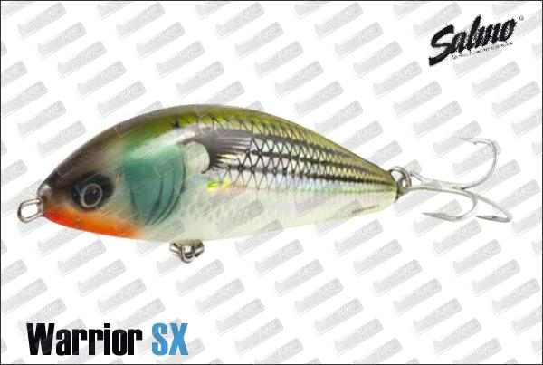 SALMO Warrior 15 cm Sinking SX