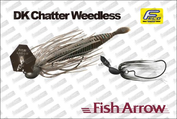 FISH ARROW DK Chatter Weedless