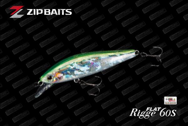 ZIP BAITS Rigge Flat 60S