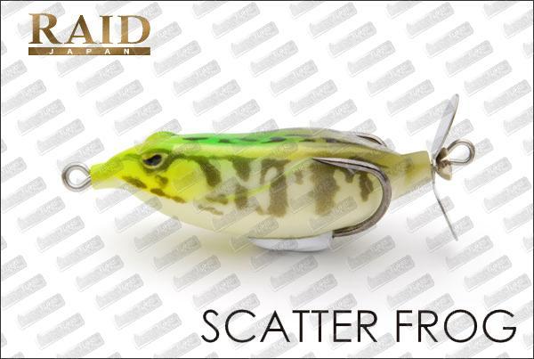 Raid japan scatter frog