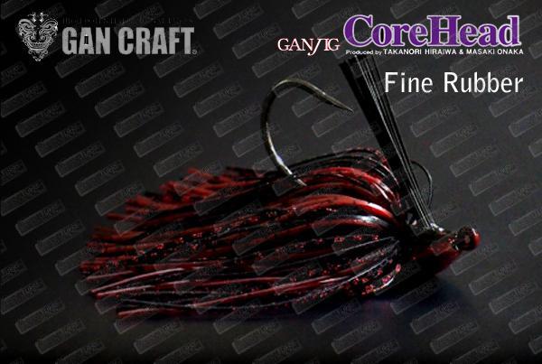 GAN CRAFT GanJig Core Head Fine Rubber
