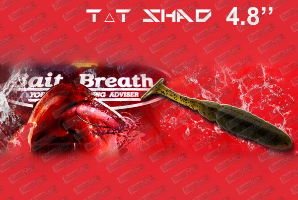 BAIT BREATH T.T Shad 4.8''