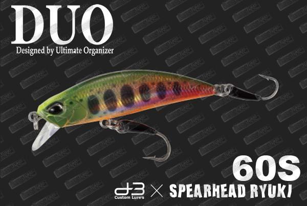 DUO Spearhead Ryuki 60S D3-BS