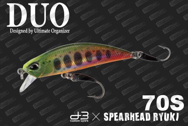 DUO Spearhead Ryuki 70S D3-BS