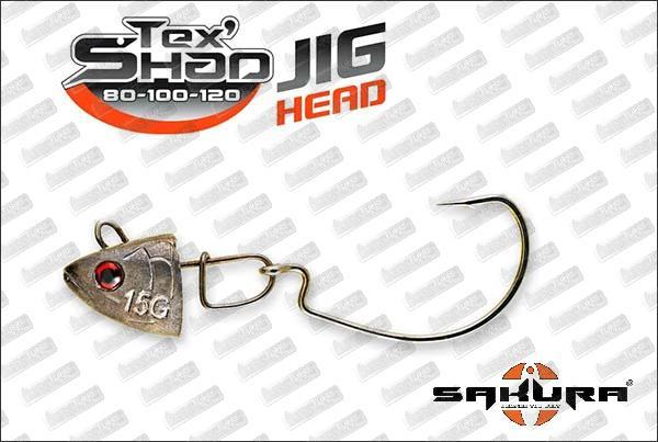 SAKURA Tex'Shad Jig Head
