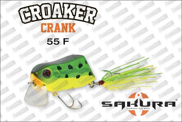 SAKURA Croaker Crank 55F