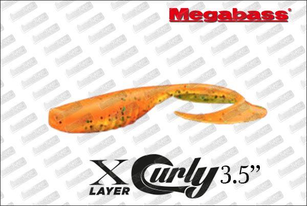 MEGABASS XLayer Curly 3.5''