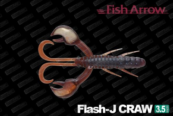 FISH ARROW Flash J Craw 3.5