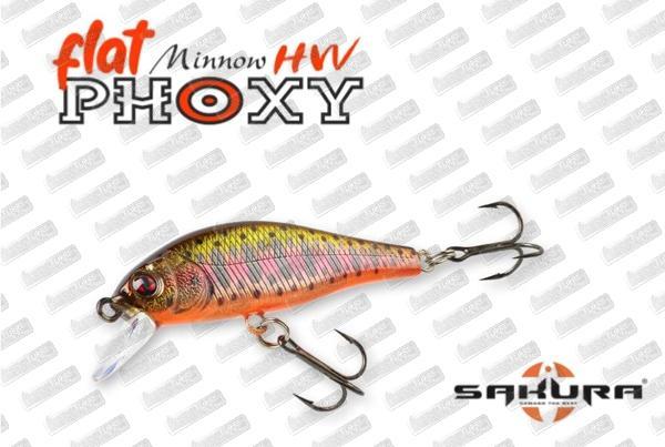 SAKURA Flat Phoxy Minnow 50S HW