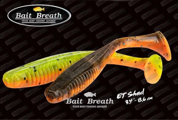 BAIT BREATH ET Shad 3.4''