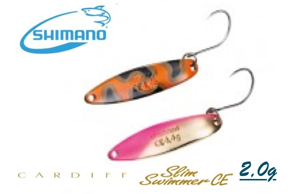 SHIMANO Cardiff Slim Swimmer CE 2,0g