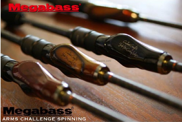 MEGABASS Arms Challenge Spinning (d'occasion)