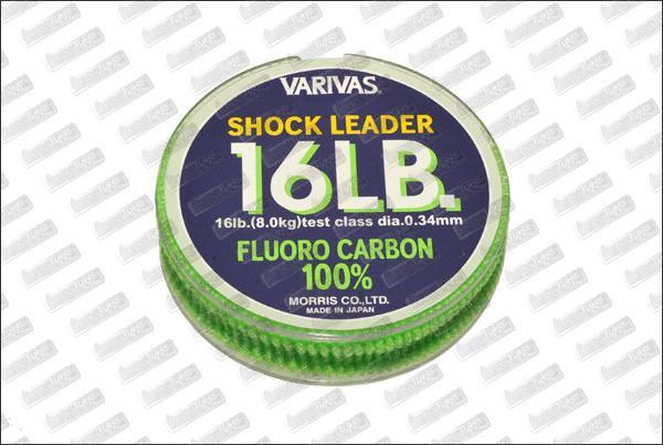 Fluorocarbon VARIVAS Shock Leader 16 lb 30m