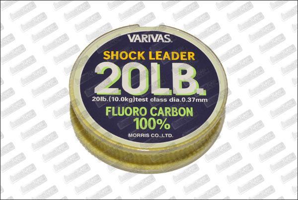 Fluorocarbon VARIVAS Shock Leader 20 lb 30m