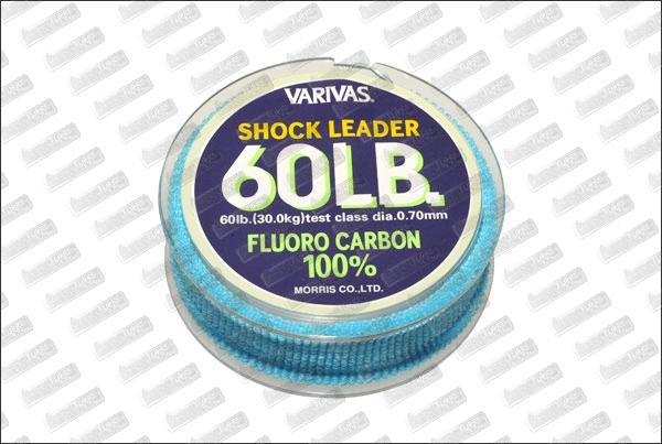 Fluorocarbon VARIVAS Shock Leader 60 lb 30m