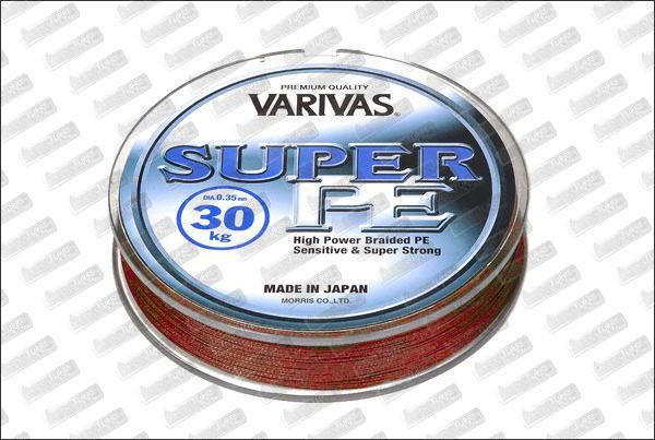 VARIVAS Super PE rouge Ø15 mm (9kg) 270m