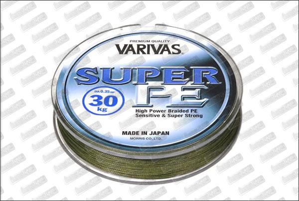 VARIVAS Super PE verte Ø15 mm (9kg) 270m