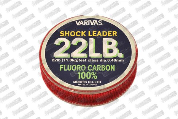 Fluorocarbon VARIVAS Shock Leader 22 lb 30m